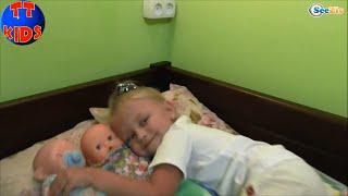 ✔ Baby Born and Nenuco. Dolls are going to bed. Куклы и Ярослава ложатся спать. Серия 45 ✔