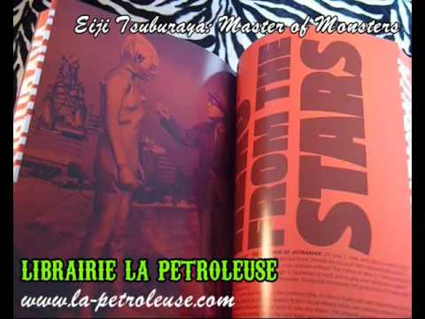 Livre / Book EIJI TSUBURAYA: MASTER OF MONSTERS (Chronicle books)