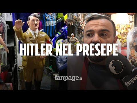 Napoli, l'autore della statuina di Hitler...