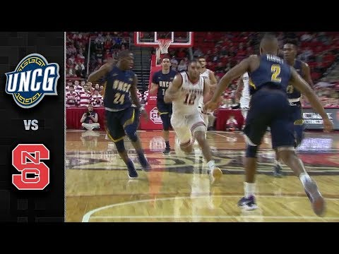 UNC Greensboro vs. NC State Basketball Highlights (2017-18)