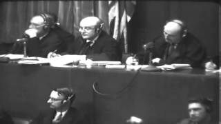 War Crimes Trials, Tokyo, Japan; Nuremberg, Germany, 05/03/1946 - 05/06/1946 (full)