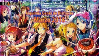 EXTREME Alchemy! Alquimia Genki de Disfraces 2018 - Private Server Grand Fantasia
