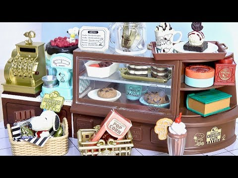 Re-Ment Miniature Peanuts Snoopy Chocolate Cafe rement Full set of 8
