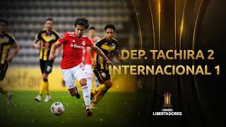 Deportivo Táchira vs. Internacional [2-1]   RESUMEN   Fecha 4   CONMEBOL Libertadores 2021
