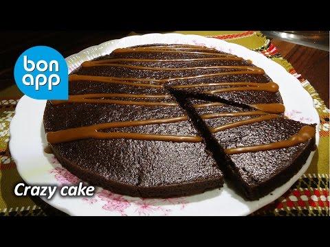 Рецепт: Крейзи-кейк. Очень простой шоколадный пирог на