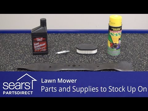 Lawn Mower Parts And Supplies To Stock Up On