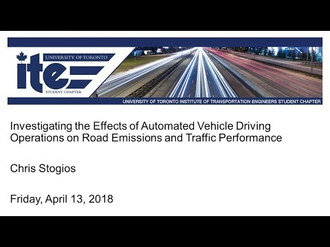 UT-ITE Seminar - April 13, 2018 - Chris Stogios