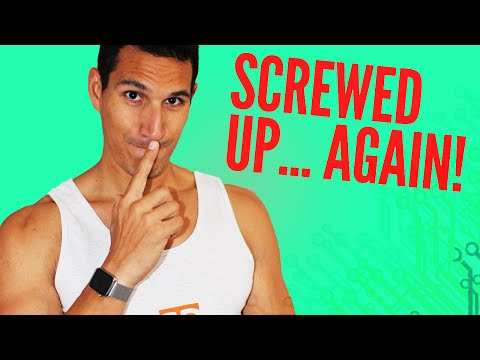 What Do You Do When You Screw Up?