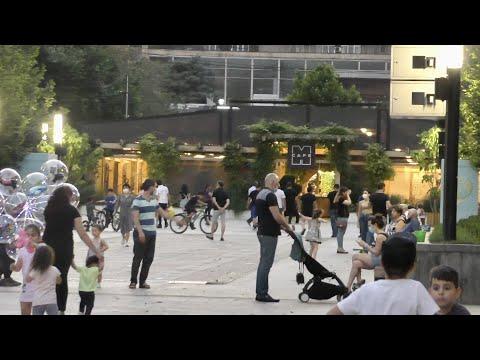 Ереван, 19.07.20, Su, ул. Арами, Рестораны, Кафе, Бульвар, День123-ий, Video-2.
