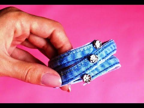 поделки из джинсовой ткани своими руками фото