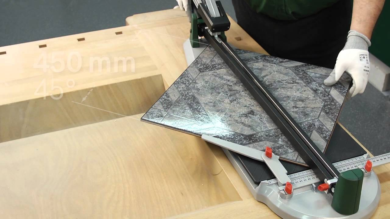 the bosch ptc 470 and ptc 640 tile cutters