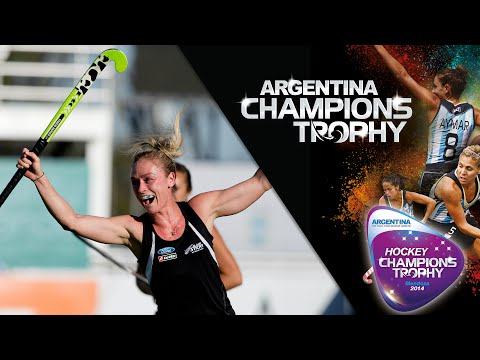 China vs New Zealand - Women's Hockey Champions Trophy 2014 Argentina Group A [2/12/2014]