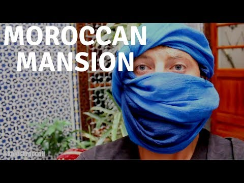 MOROCCAN MANSION FEATURING ALADDIN