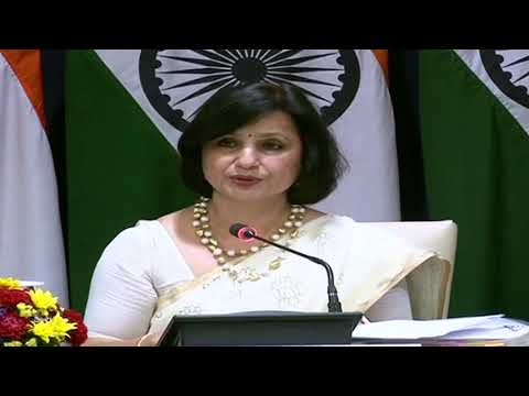 #MEA Media Briefing on upcoming visits of President to Equatorial Guinea, Swaziland & Zambia