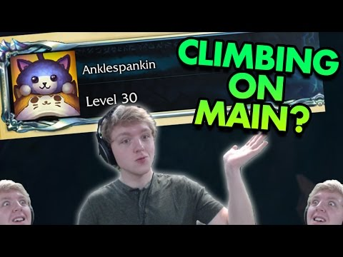 CLIMBING RANKED ON MY MAIN ACCOUNT FINALLY - ADC To MASTERS Ep. 9 - League of Legends Commentary