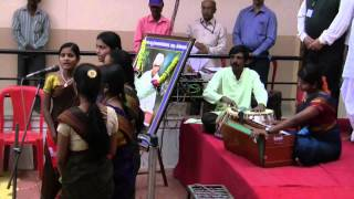 Traditional Kannada  Song Presented By Rural Girls of  Shivayoga Madir Badami by Shirishkumar Patil