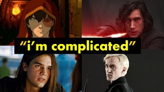 Why We Love Angsty Boys (Analyzing Prince Zuko, Warren Peace, Draco Malfoy, and Ben Solo)