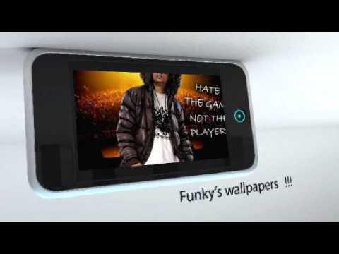 Dj FuNkysara Iphone App Advertisement