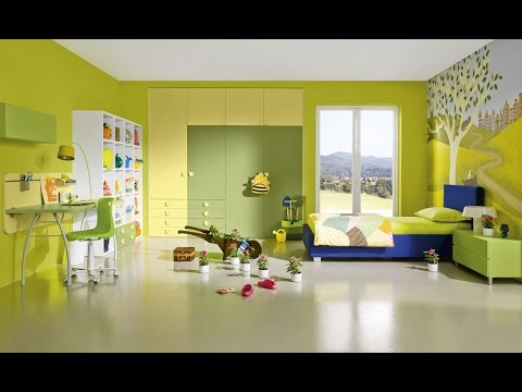 perfect yellow bedroom