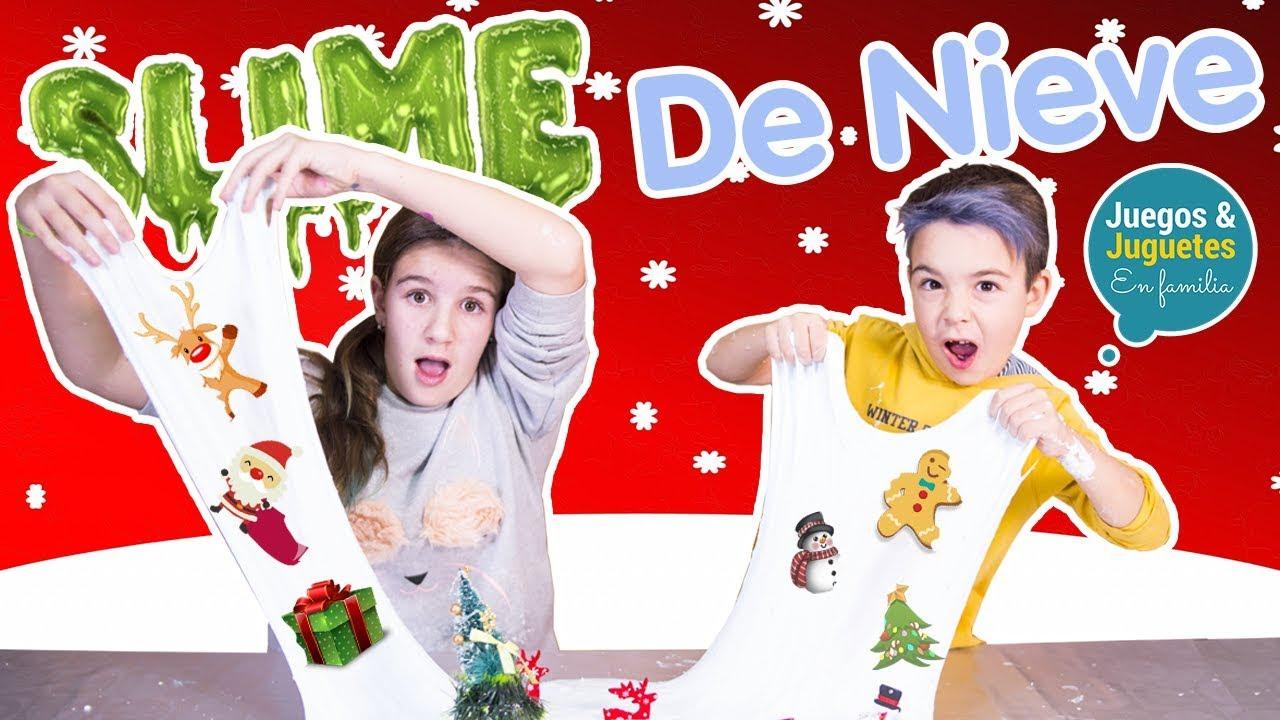 El Slime De Nieve Mas Increible Para Esta Navidad Los