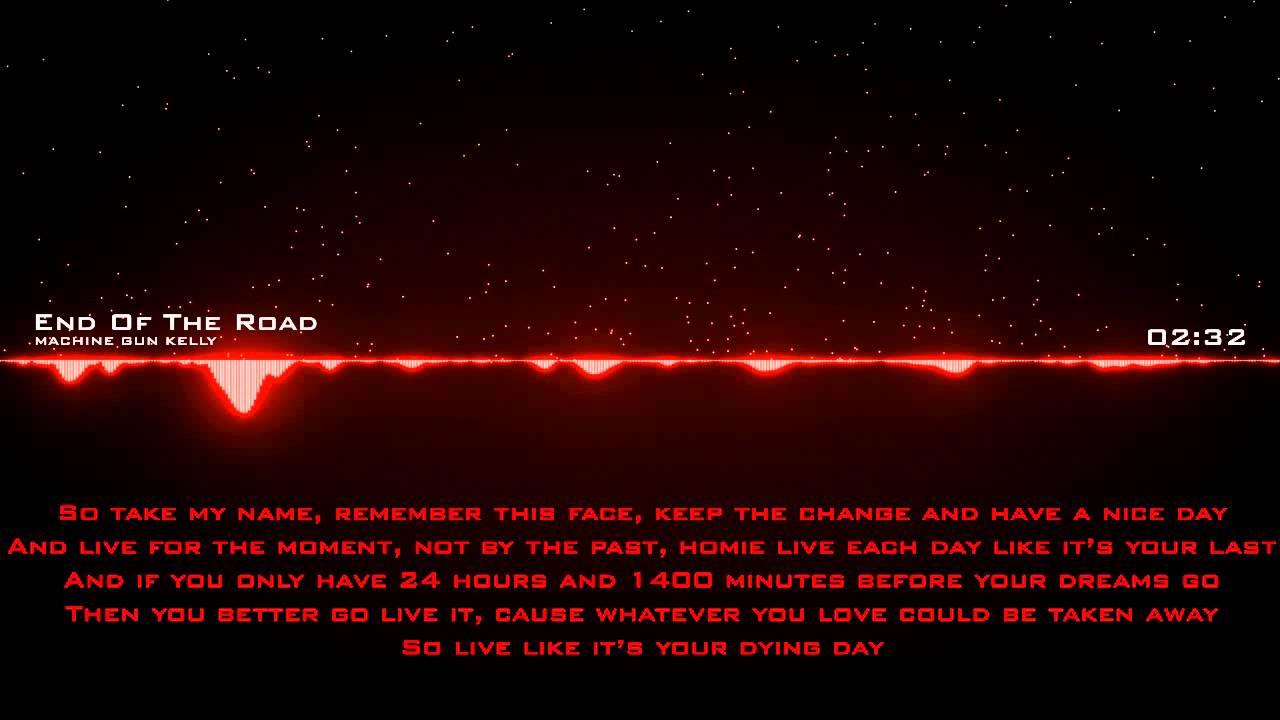 machine gun end of the road lyrics
