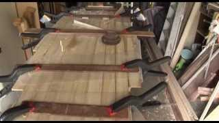 How to make a Wood Wrap / Wood over Foam Surfboard