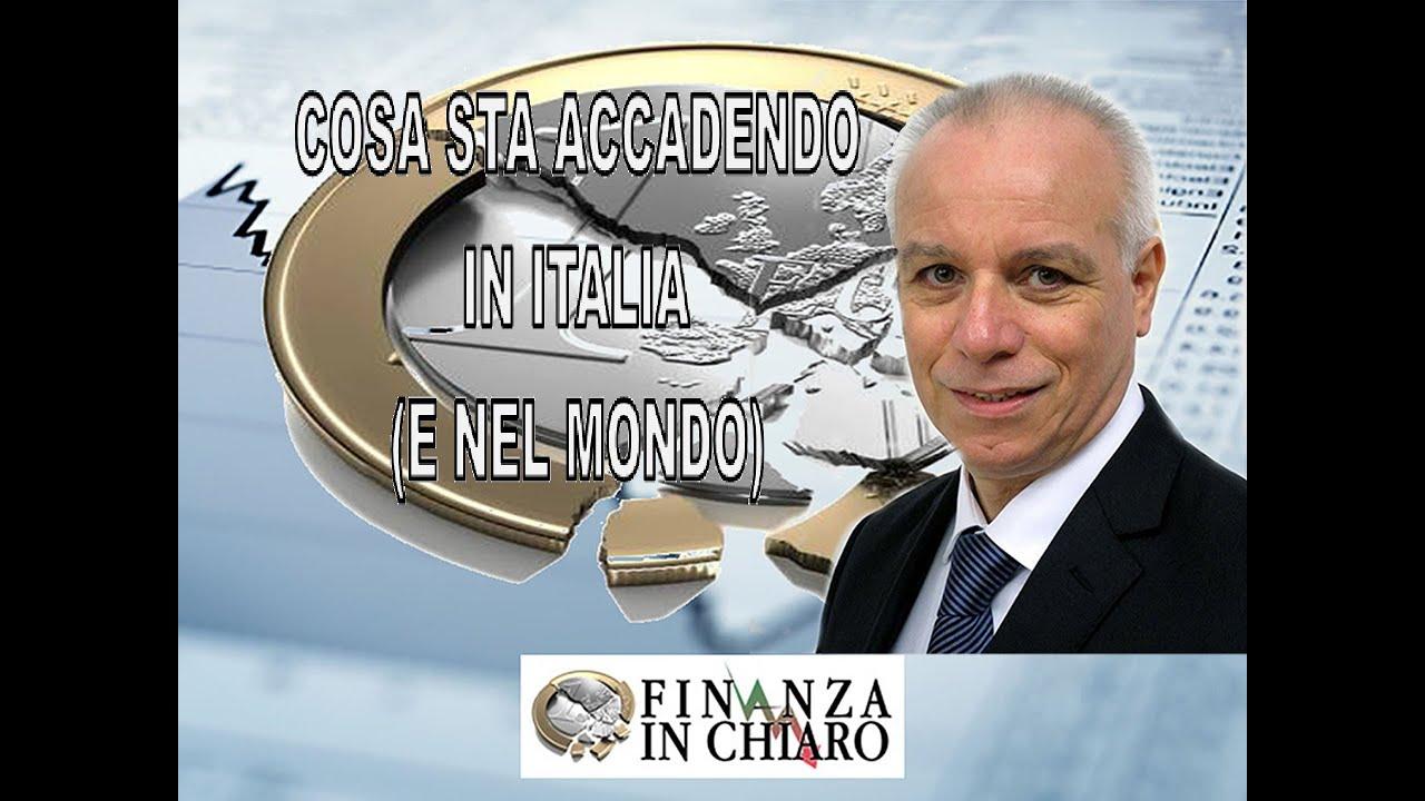 COSA E' ACCADUTO IN ITALIA (E NEL MONDO) ?