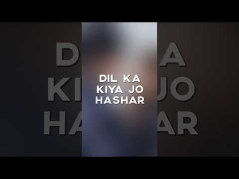 Teri Nazron Ne Dil Ka Kiya Jo Hashar Asar Yeh Hua // Srk New Full Screen Whatsapp Status Ajabsi