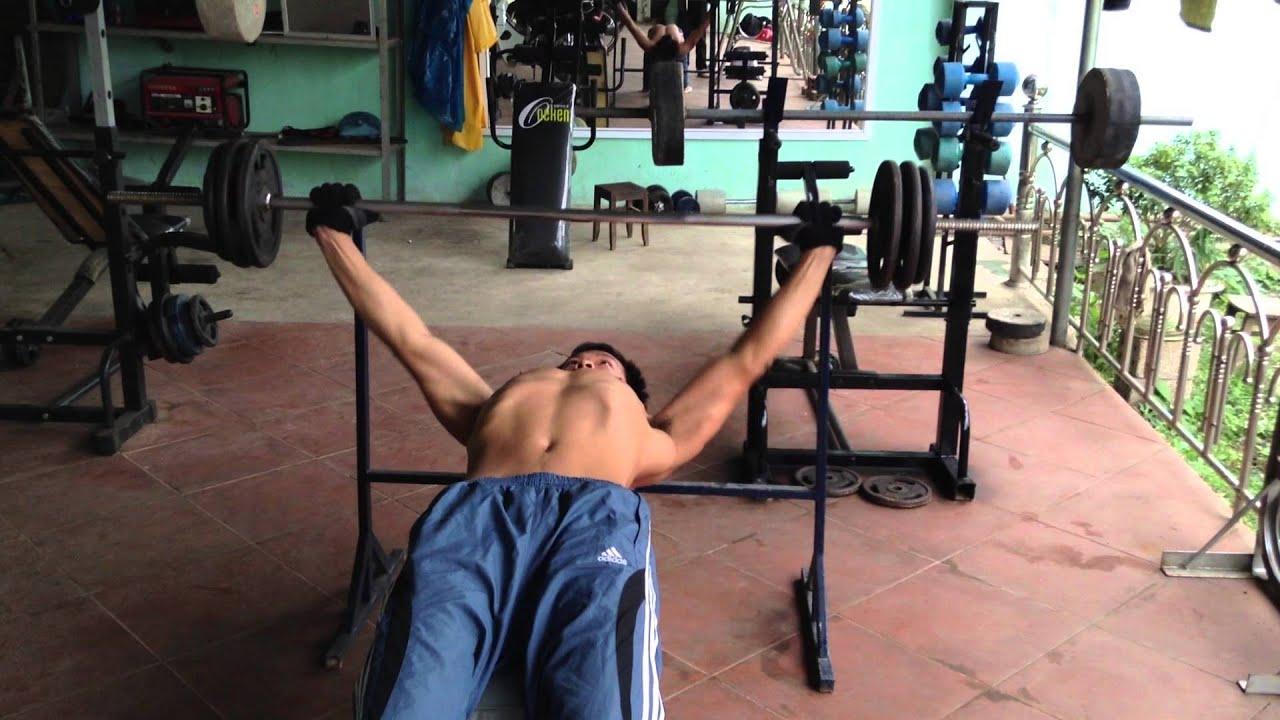 Bài tập cơ ngực. Thể hình Thảo Nguyên-Mộc Châu