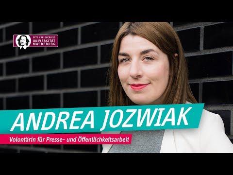 Andrea Jozwiak - Volontärin für Presse- und Öffentlichkeitsarbeit | OVGU
