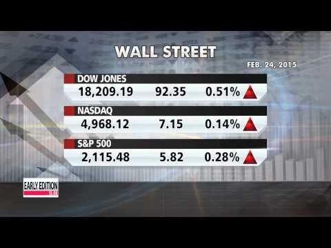 U.S. markets record new highs, following Yellen Senate testimony   뉴욕증시, 유동성 힘 다