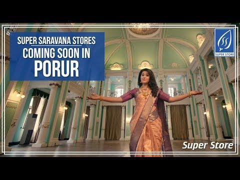 Super Saravana Stores is Coming to Porur
