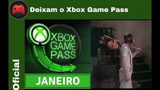 [Oficial] Jogos que deixam o Xbox Game Pass em Janeiro