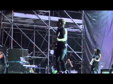 Skillet Live Kubana festival 2013. Russia. Full concert