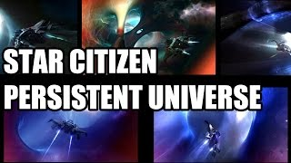 Star Citizen - Persistent Universe Module Unveil & Jumpgate Footage