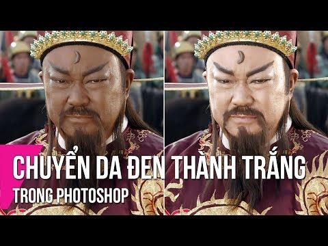Chuyển Da Đen Thành Da Trắng Trong Photoshop | Thùy Uyên