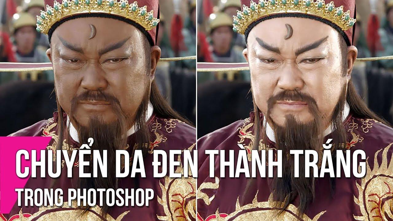Chuyển Da Đen Thành Da Trắng Trong Photoshop   Thùy Uyên