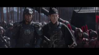 Великая стена / The Great Wall (2016) Трейлер HD