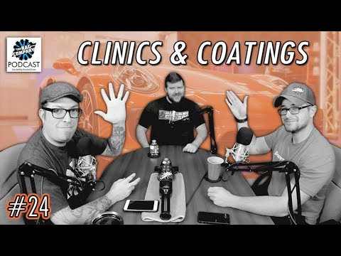 Porsche Wash Clinic, Livestreaming & The World of Coatings | 024 | TRC PODCAST