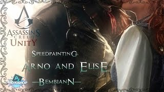 Arno Dorian and Elise De La Serre (Assassin`s Creed Unity) Speedpainting.