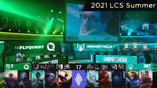 FLY VS IMT Highlights - 2021 LCS Summer W3D3