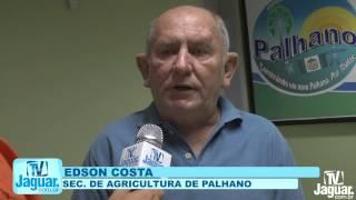 Edson Costa, secretário de agricultura de Palhano, fala quem tem direito as cisternas