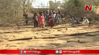 దట్టమైన నల్లమల్ల అడవిలో కాలినడకన శ్రీశైలం వెళ్తున్న భక్తులు: Devotees going to Srisailam | NTV