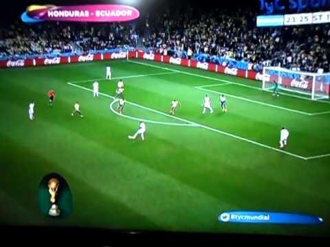 Ecuador 2 vs Honduras 1 Resumen