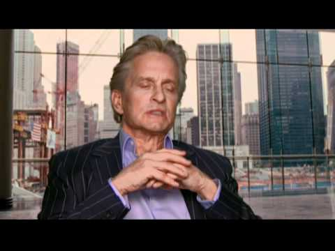 Interview with Michael  Douglas for Wall Street Money Never Sleeps