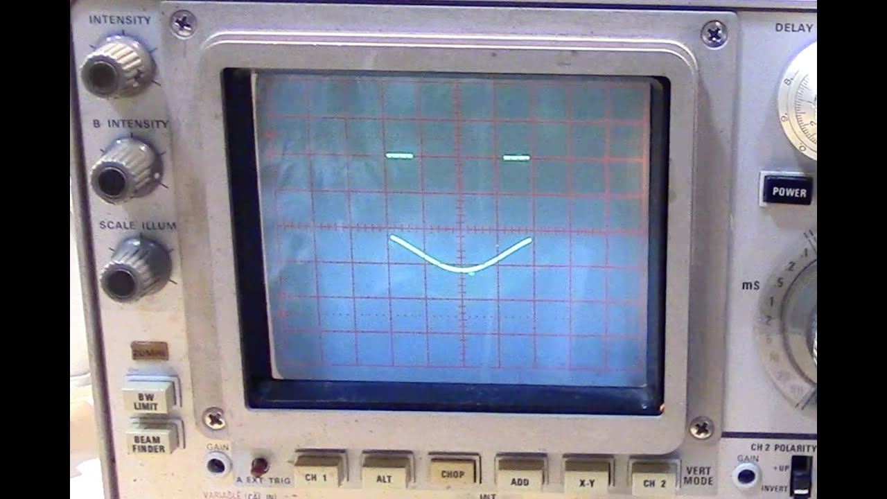 Tektronix 485 Troubleshooting And Repair Youtube 10 Wiring Diagram 12v Sik