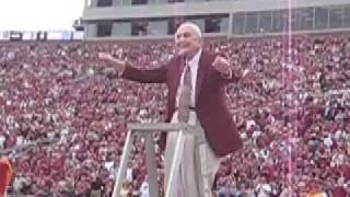 Prof. Tommy Wright conducts the FSU Fight Song