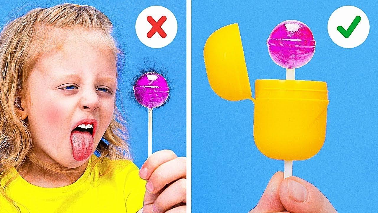 Простые трюки для любителей крафтов || 22 лайфхак для всей семьи