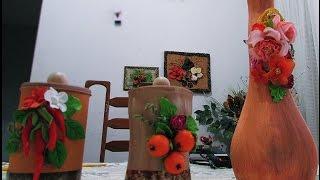 Reciclando latinha e reformando vasos com Darci Borges