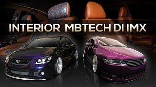 Interior Custom MBtech di IMX 2019